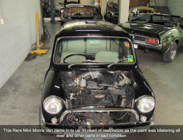 Morris Mini Van Car Restoration Sydneys Leading Car Restoration