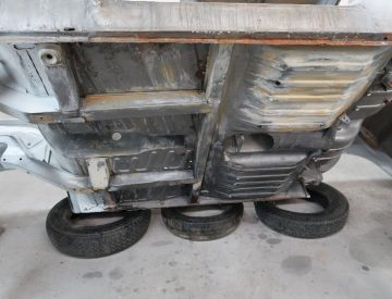 Concours sports car restoration